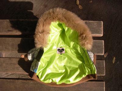フラワーダウンコート【誕生日 贈り物 プレゼント お祝い ペット 洋服】の画像3枚目