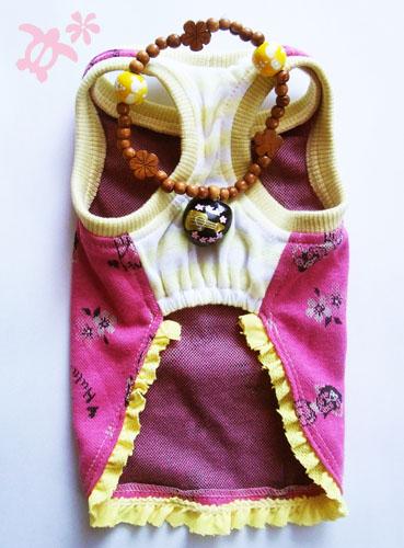 アロハタンクトップ【誕生日 贈り物 プレゼント お祝い ペット 洋服】の画像3枚目