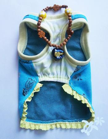 アロハタンクトップ ブルー【誕生日 贈り物 プレゼント お祝い ペット 洋服】の画像3枚目