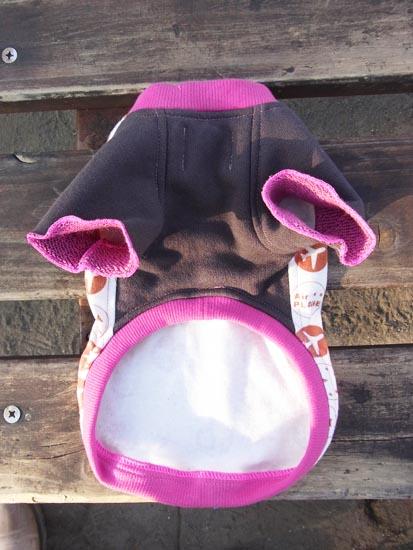 プレインTシャツ ピンク【誕生日 贈り物 プレゼント お祝い ペット 洋服】の画像3枚目