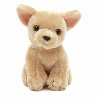 チワワのぬいぐるみ(クリーム)【犬 プレゼント 贈り物 誕生日 記念日 ギフト】の画像1枚目