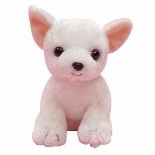 チワワのぬいぐるみ(ホワイト)【犬 プレゼント 贈り物 誕生日 記念日 ギフト】の画像1枚目