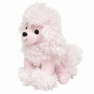 トイプードルのぬいぐるみ(ピンク)【犬 プレゼント 贈り物 誕生日 記念日 ギフト】の画像1枚目