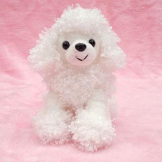トイプードルのぬいぐるみ(ホワイト)【犬 プレゼント 贈り物 誕生日 記念日 ギフト】