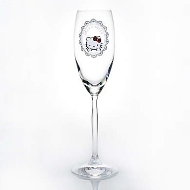 シャンパングラス【誕生日 バースデー ギフト 贈り物 プレゼント グラス 食器 スワロフスキー】の画像1枚目