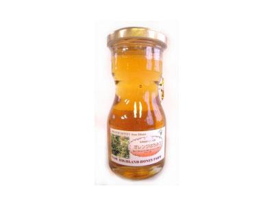 オレンジはちみつ メキシコ産 130g瓶