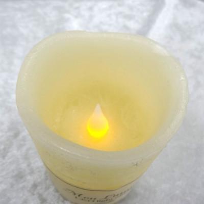火を使わないキャンドル型LEDライト(バニラの香り) ※単三電池2本付き【誕生日 バースデー ギフト 贈り物 プレゼント お祝い ギフト】の画像2枚目