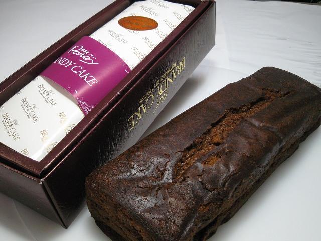 チョコレートブランデーケーキ 約24cmの画像1枚目
