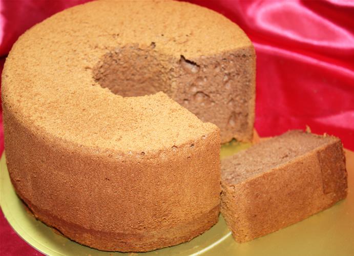 【ポイント10倍】チョコレートシフォンケーキ 17cmの画像1枚目