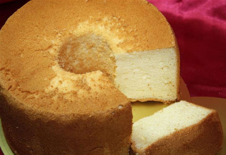 プレーンシフォン【誕生日 ケーキ シフォンケーキ】の画像1枚目