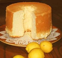 レモンシフォンケーキ 17cmの画像1枚目