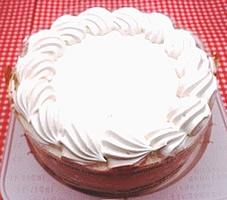 卵・乳製品・小麦粉除去 クリーム ホールケーキ 5号 15cm