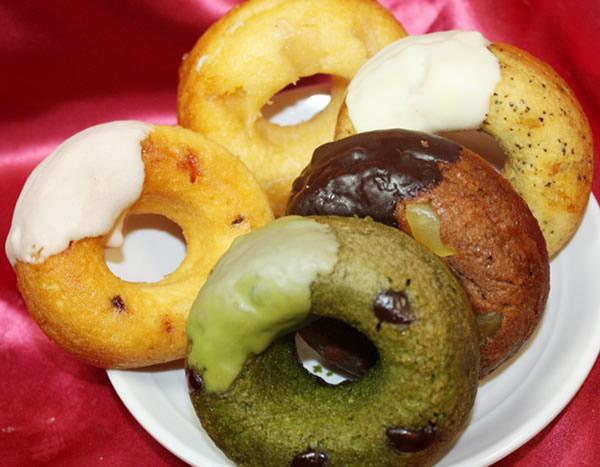 ケーキ屋さんの焼ドーナツ 5個入りの画像1枚目