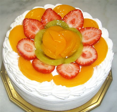 フルーツデコレーションケーキ5号の画像1枚目
