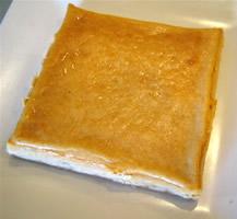 きなこ和チーズケーキ15cm×15cm×2cmの画像1枚目