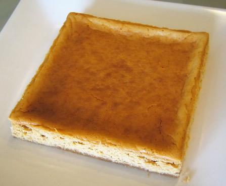 黒糖和チーズケーキ15cm×15cm×2cmの画像1枚目