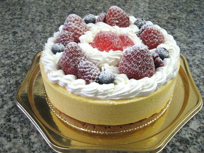 マンゴームース4号(12cm)【バースデーケーキ 誕生日ケーキ デコ バースデー】