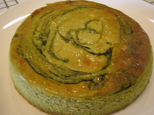 抹茶チーズケーキの画像1枚目