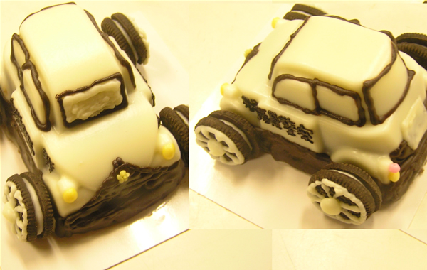 ミニパトのケーキの画像1枚目