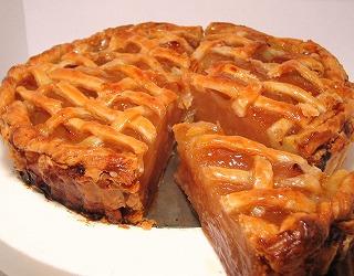 昔ながらの甘酸っぱ〜い 紅玉りんごのアップルパイ(6.5号サイズ)の画像1枚目