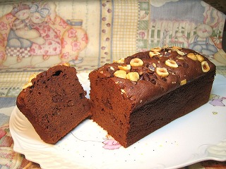 チョコのバターケーキ(冷凍)