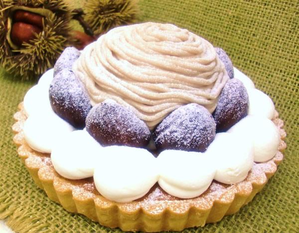 栗のタルト(16cm)【バースデーケーキ 誕生日ケーキ デコ バースデー】の画像1枚目