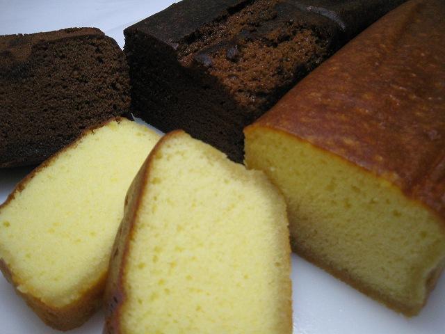 プレーンチョコレートブランデーケーキ2本入