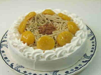 【送料無料】和栗のモンブラン〜マロントルテ【バースディ】【バースデーケーキ 誕生日ケーキ デコ】