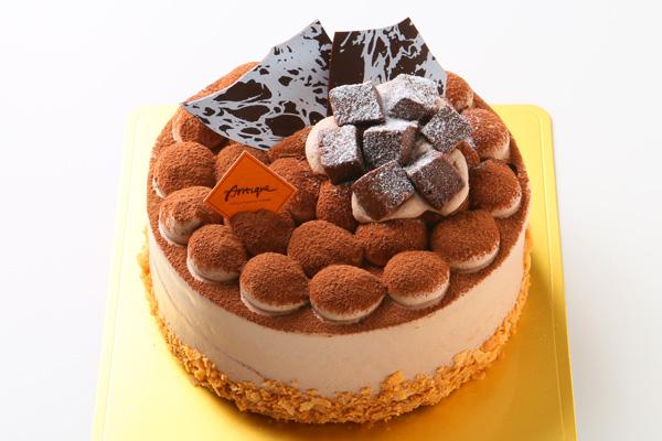 厳選したクーベルチュールと十勝産生クリームを使用したチョコレートムース