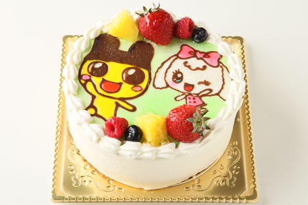 生クリームキャラクターケーキ5号(キャラ2体まで) の画像2枚目