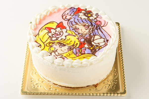 生クリームキャラクターケーキ5号(キャラ2体まで) の画像4枚目