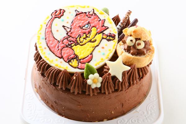 1日限定2台!キャラクタープレートケーキ 4号 12cmの画像2枚目