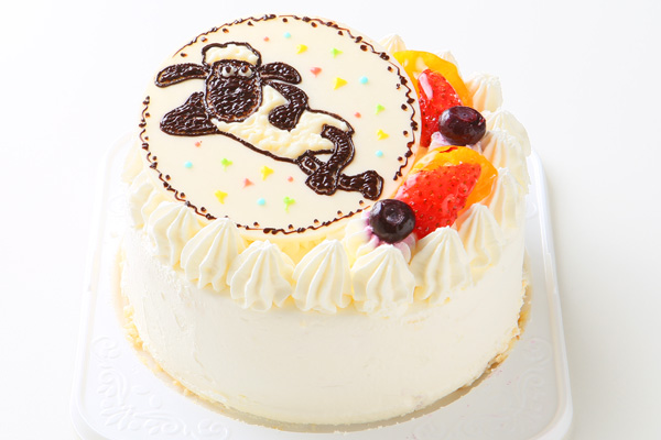 1日限定2台!キャラクタープレートケーキ 4号 12cmの画像3枚目