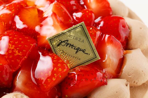 生チョコ苺盛りデコレーションケーキ5号(15cm)の画像6枚目