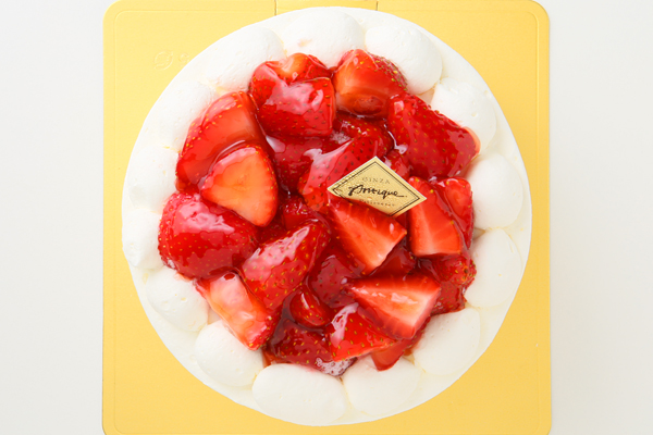 苺盛りデコレーションケーキ5号(15cm)の画像2枚目