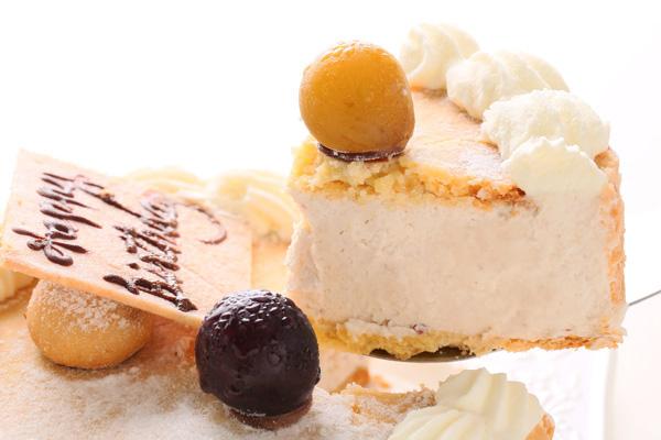 ブルーベリーのチーズケーキ(レアチーズ)4号の画像2枚目