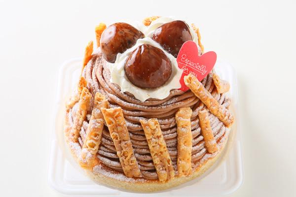 秋にぴったりのケーキ☆モンブラン4号の画像1枚目
