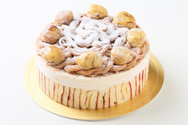 モンブランデコレーションケーキ4号
