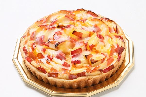 今が旬!青森りんごの紅玉のタルト カスタードポム 16cm