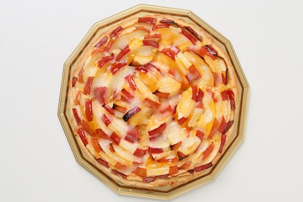 今が旬!青森りんごの紅玉のタルト カスタードポム 16cmの画像2枚目