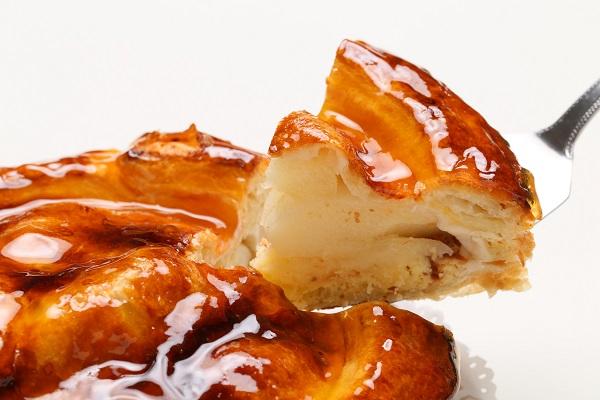 今が旬!青森りんごの紅玉のアップルパイ もち小麦入り 18㎝の画像3枚目