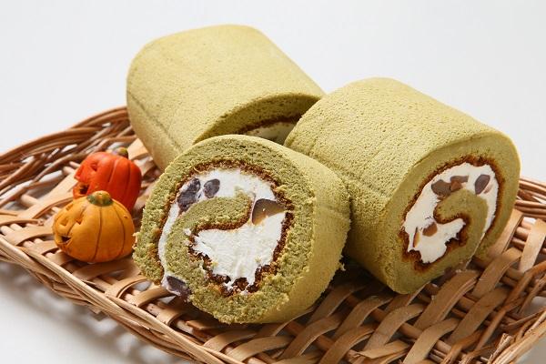 宇治抹茶をふんだんに使用☆抹茶ロールケーキ 長さ16cm