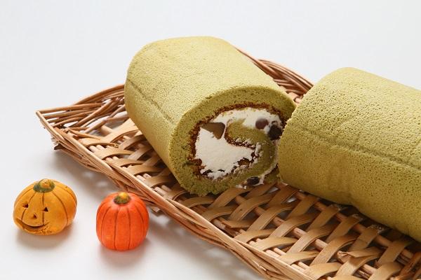 宇治抹茶をふんだんに使用☆抹茶ロールケーキ 長さ16cmの画像3枚目