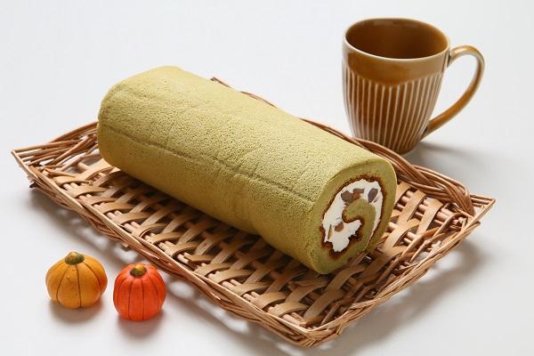 宇治抹茶をふんだんに使用☆抹茶ロールケーキ 長さ16cmの画像4枚目