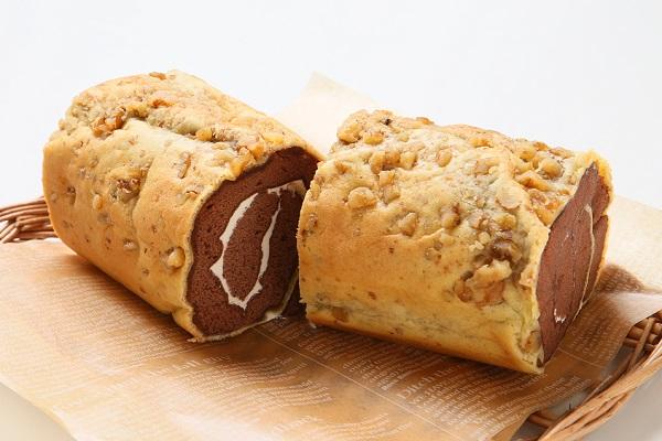 ロールケーキ(バタークリームモア ココア味) 長さ 18.5センチの画像2枚目