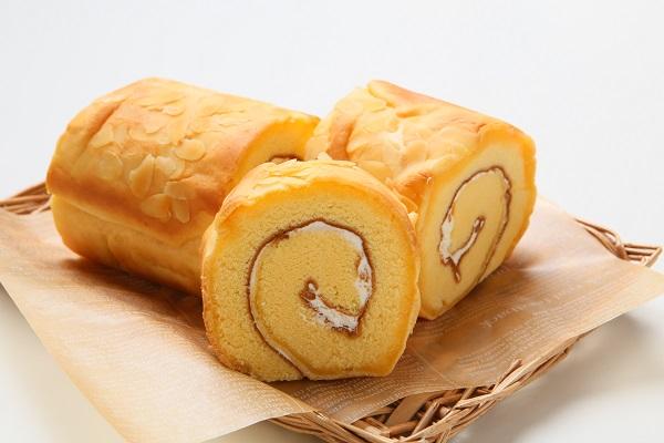 ロールケーキ(バタークリーム バニラ味) 直径7.5cm