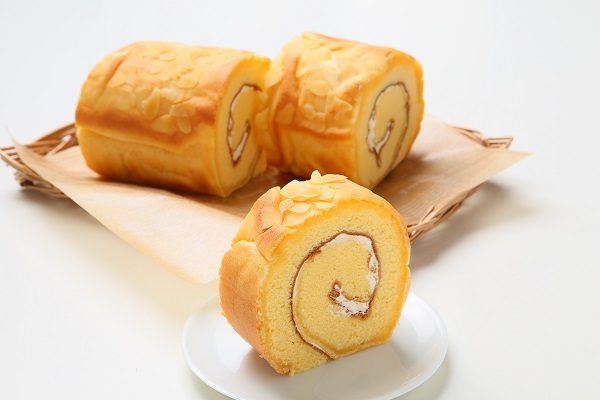 ロールケーキ(バタークリーム バニラ味) 直径 7.5センチの画像2枚目