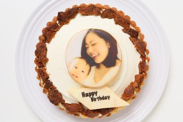 写真クッキー追加無料 三層のチーズタルト 5号 15cmの画像2枚目