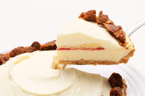 写真クッキー追加無料 三層のチーズタルト 5号 15cmの画像3枚目