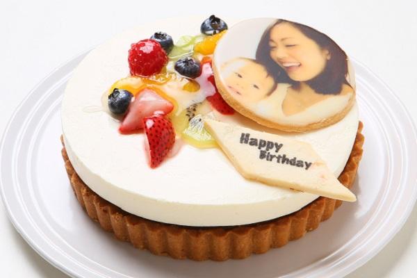 写真ケーキ デコレーションタルト